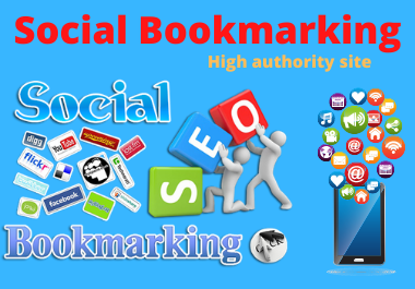 I will create manually Top 30 high PR & high authority Social Bookmarking sites