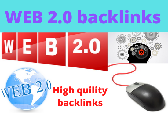 I will create 30 High Authority WEB 2 0 backlinks to boost your ranking