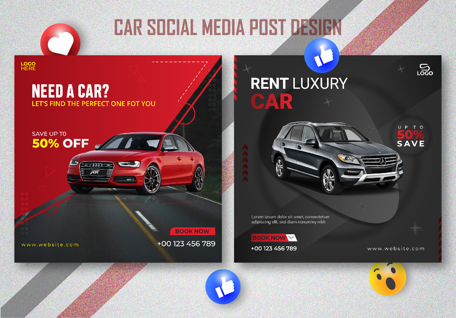I will design eye-catching social media posters, stories, and banners design.