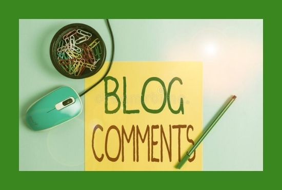 Manually Build 100 Niche Relevant High Quality Blog Comments Backlinks