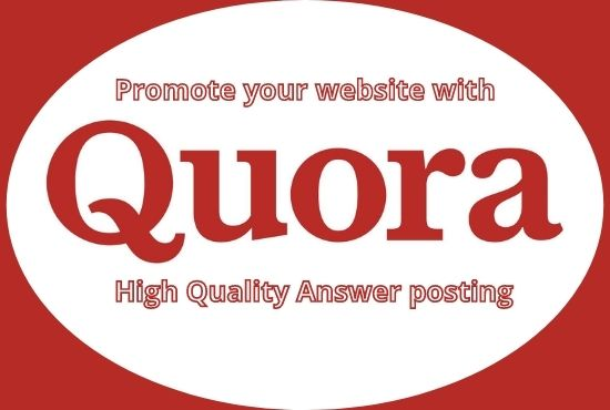Guaranteed Boost your website traffic with 15 HQ Backlinked Quora answer