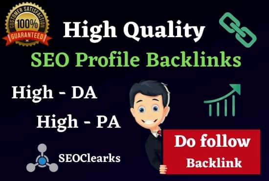 Rank On Google 1st page 50 SEO Manual High Authority Backlinks,  Web 2.0 & Social Bookmark