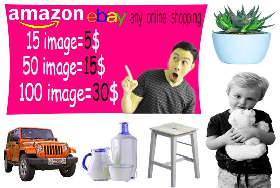I will do background remove, photo resize, retouching and photo editing