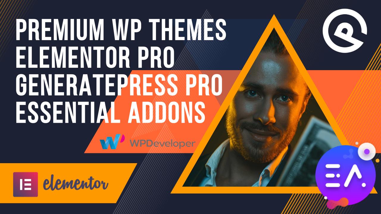 I will install premium wordpress themes,  templates and elementorpro