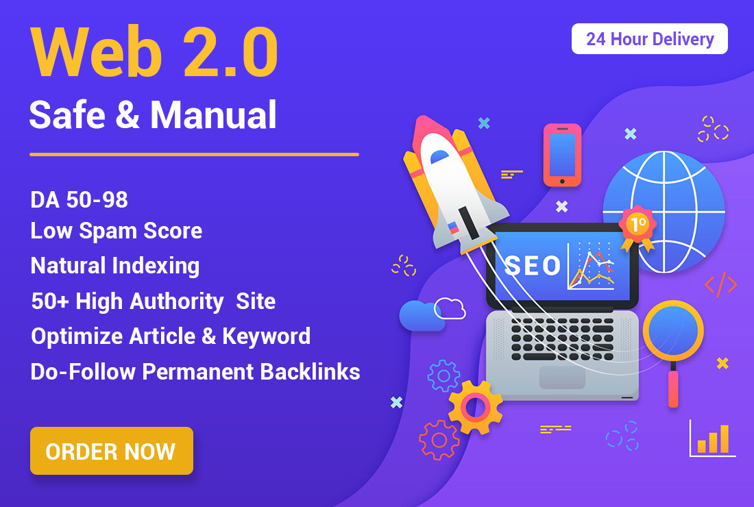 35+ high authority web 2.0 permanent backlink