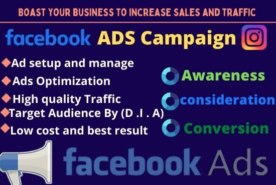 I will managed facebook ads campaign optimize Social business