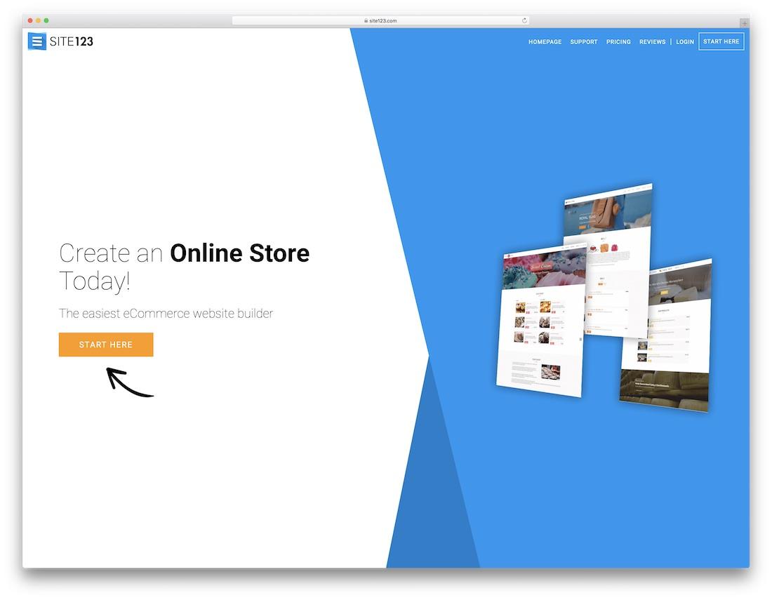 I will design ecommerce website online store and wordpress website