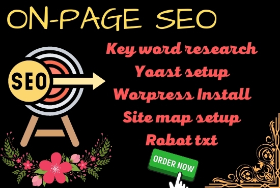 I will do on-page SEO with Yoast setup for your website