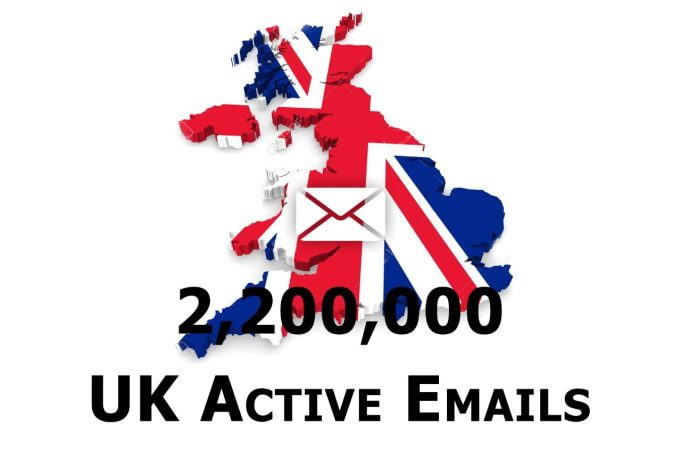 I Will Provide2 mllion uk Email List For Email Marketing consumer email databases