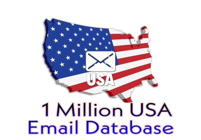 I Will Provide 1 mllion Email usa list For Email Marketing consumer email databases