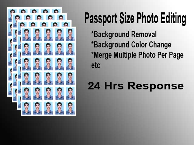 Resize your photos in to Printable Sizes and Merge Multiple photos in single page for Bulk printing