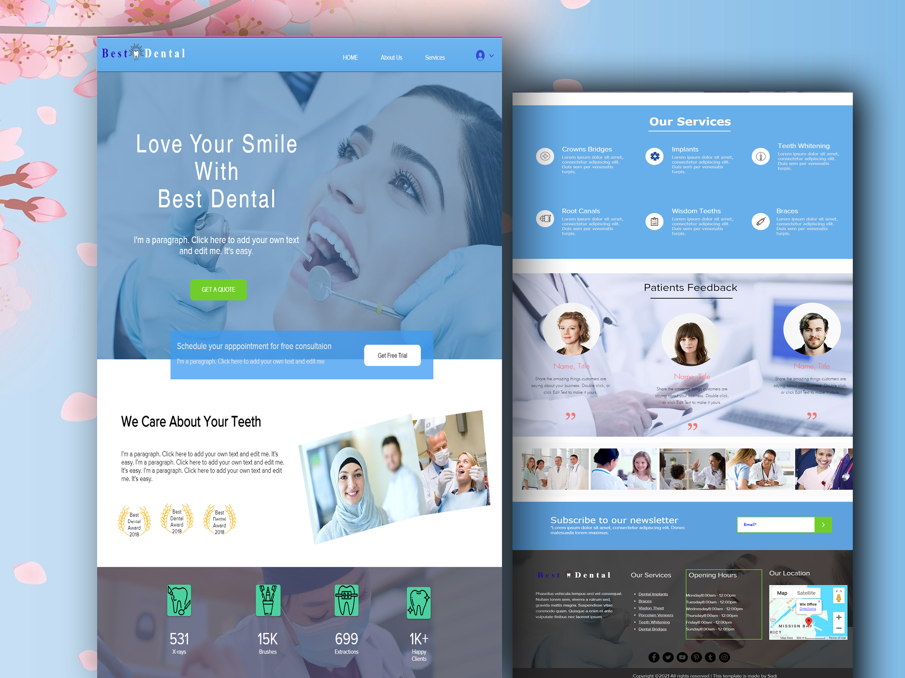I will design or redesign wix landing page or wix website