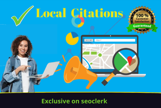 I will do 100 live local citations for your local business listing