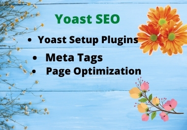 I will optimize your website on page SEO by rank math or Yoast