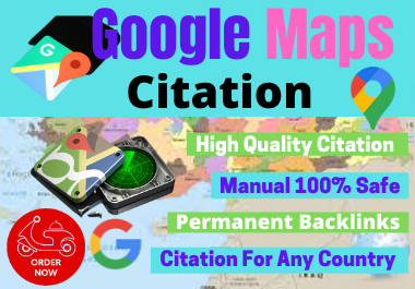500 Google Maps Citations Manually With Adding Your Business Logo For Local Business SEO