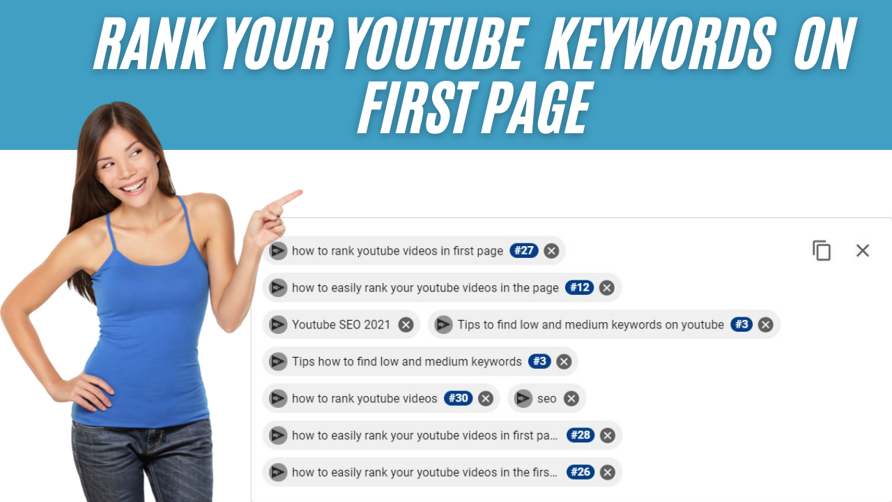 Ranking Your Youtube Keywords On First Page One Video
