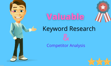 I will do Valuable Keyword Research to rank your business.