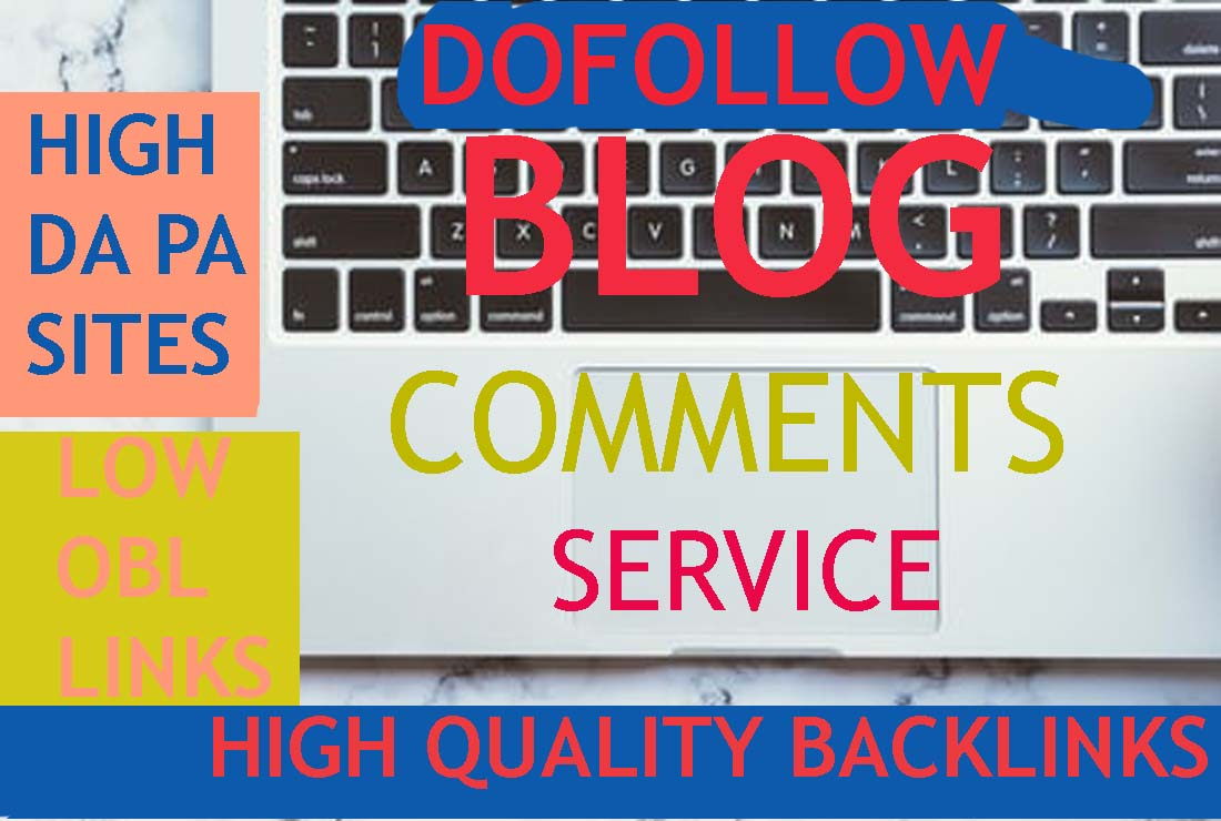I Will do 160 Blog comments Dofollow Backlinks
