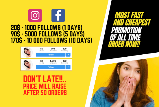 I'll promote social media Page & give non drop traffic