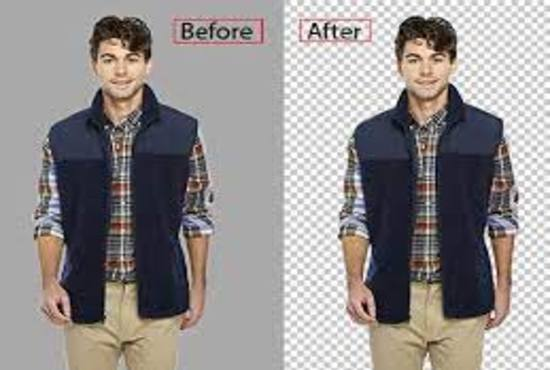 i will do 50 images background removal faster