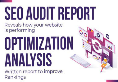 I will provide executable website SEO audit report along with competitor analysis