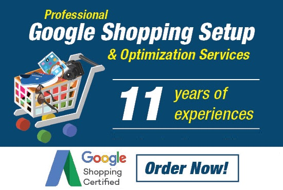 Google Shopping Ads - Setup & Optimizations in Cheap Rates