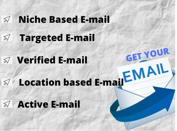 I will give you 7000 verified niche based targeted keyword E-mail list