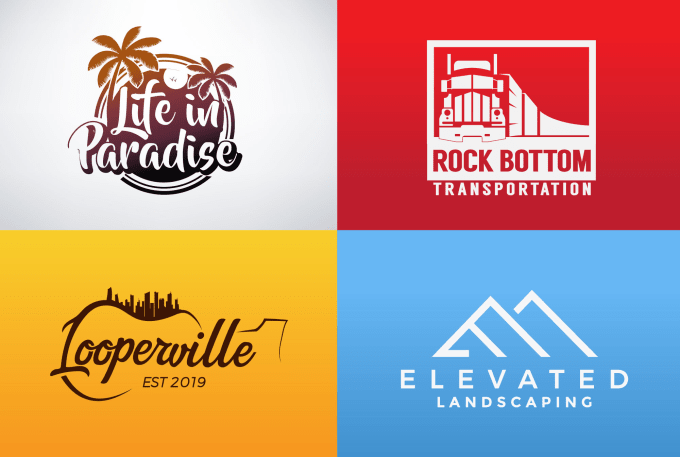 I will design a perfect logo with unique thought
