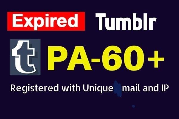 I will register 200 pa 60 plus expired tumblr