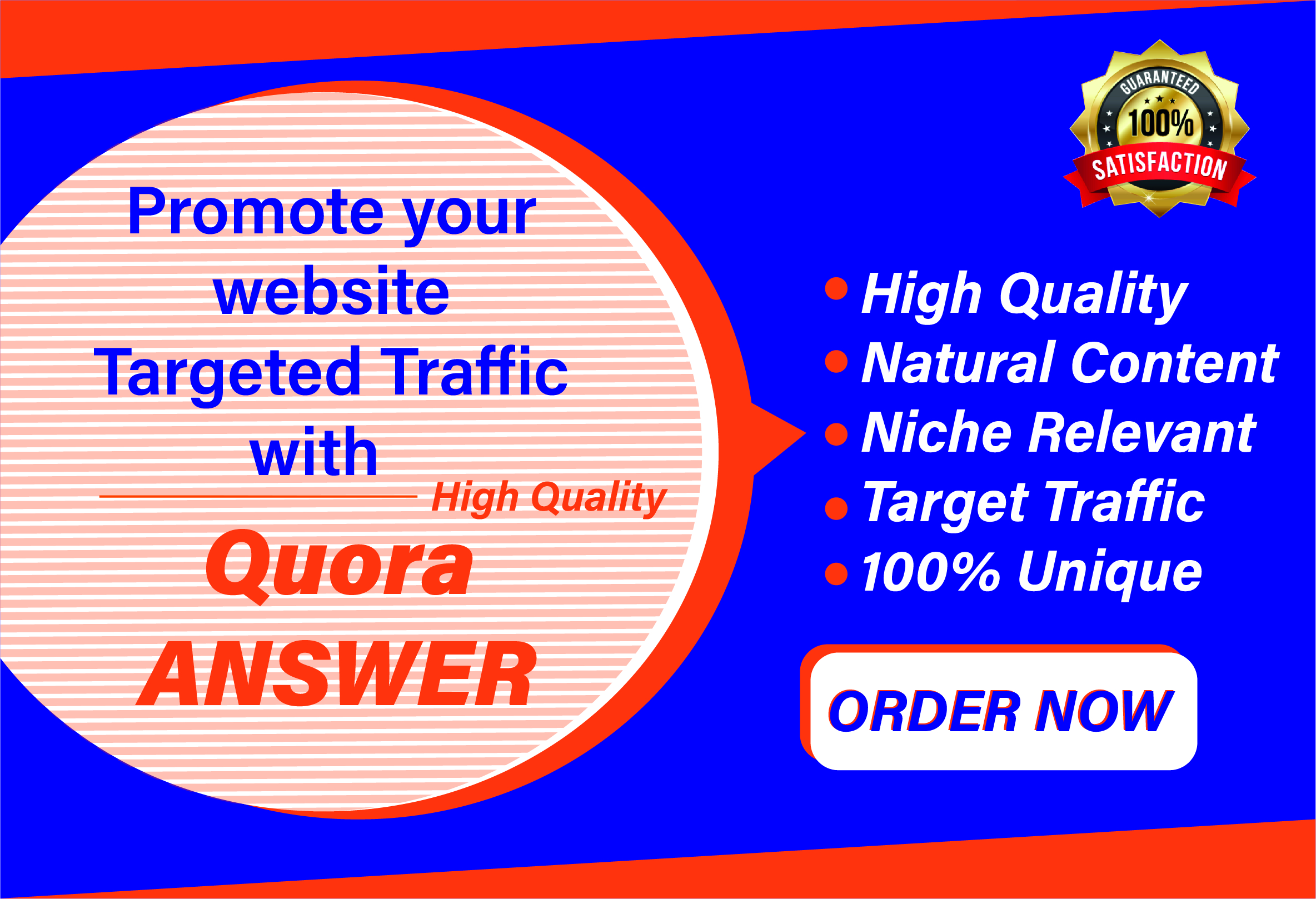 Promote your website traffic with 10 High Quality Quora Answers