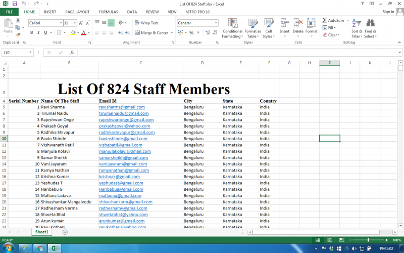 I will do Online or Ofline Data Entry,Copy and Paste Work for you