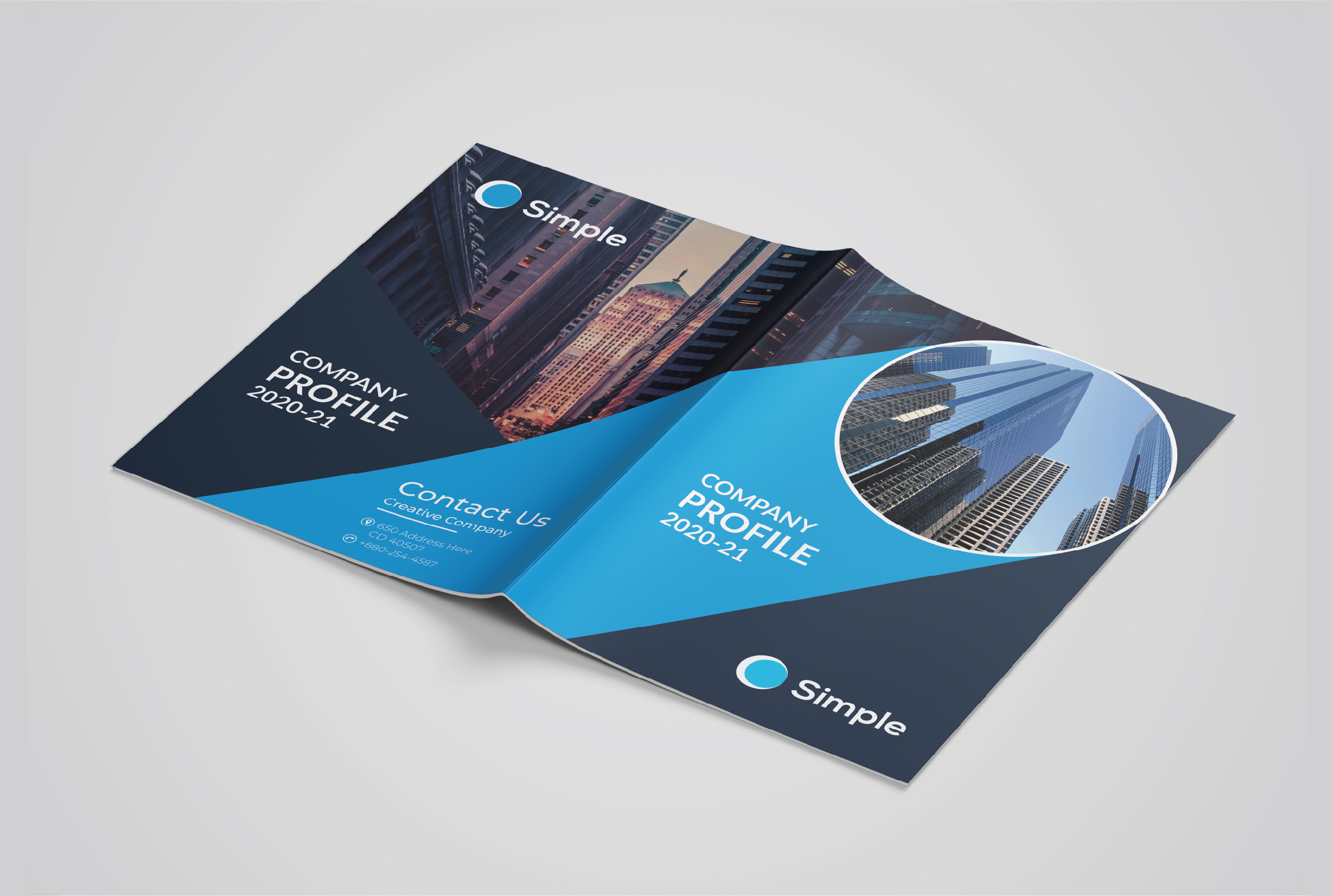 I Will Design Company Brochure or Business Catalog For your Business