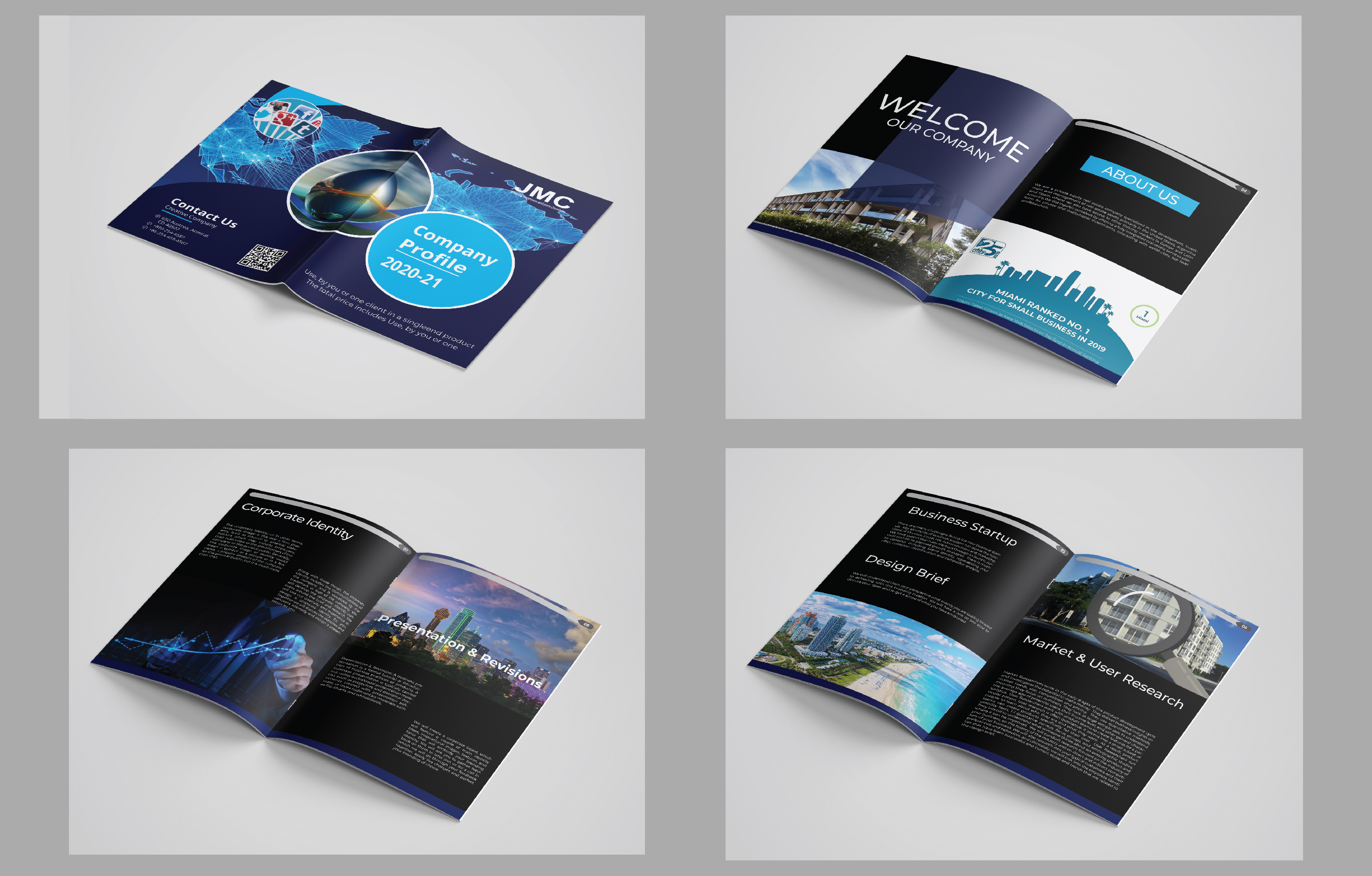 I Will Design Company Brochure or Business Catalog with my creativity.