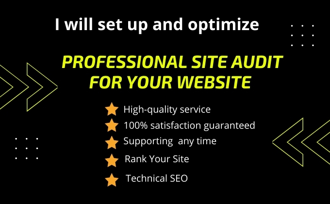 I will Do Audit for Your Web site and WordPress Completely