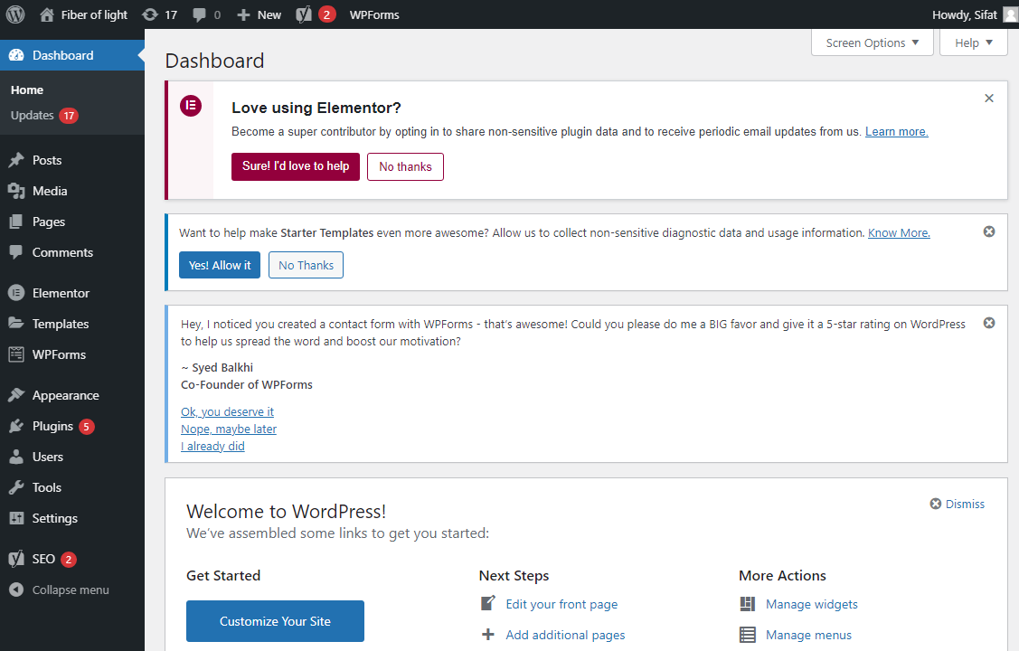 I will do on page seo with wordpress and yoast setup