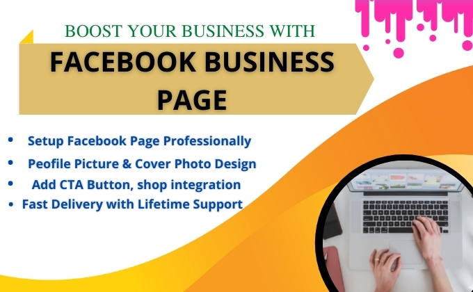 I will create FB Impressive Business page and optimization
