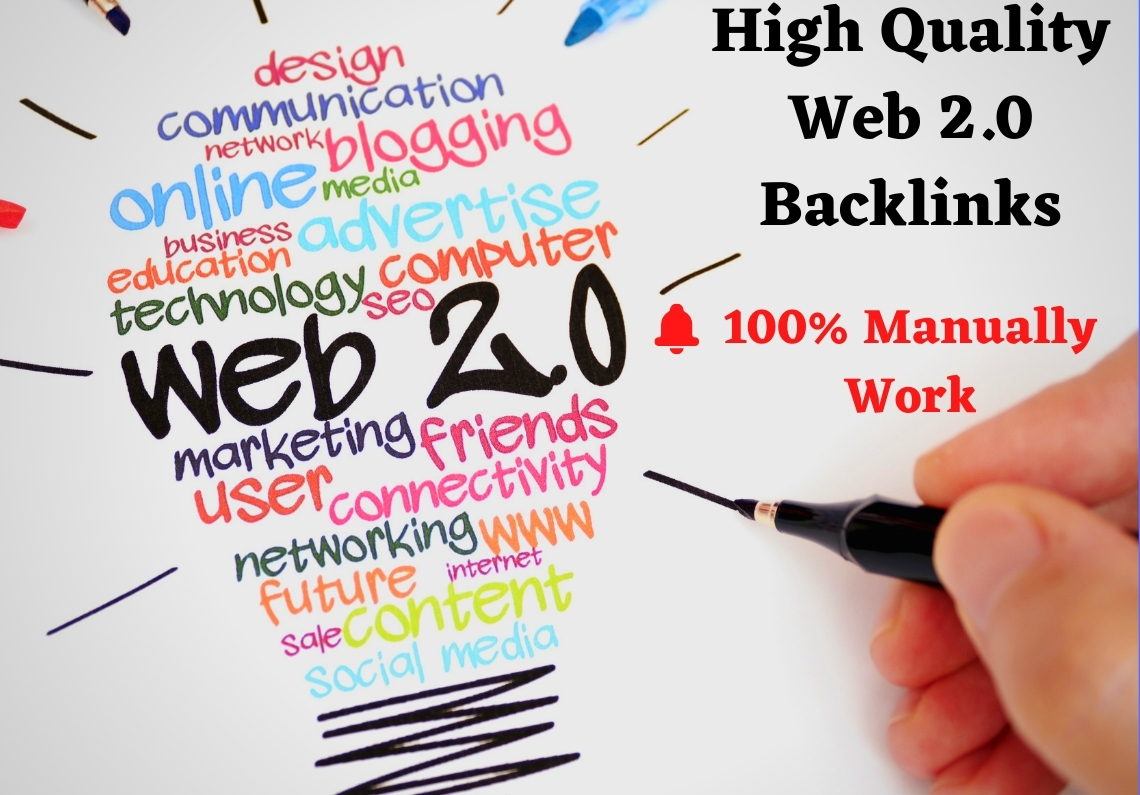 50 High Authority Super Web 2.0 Blogs SEO Backlinks