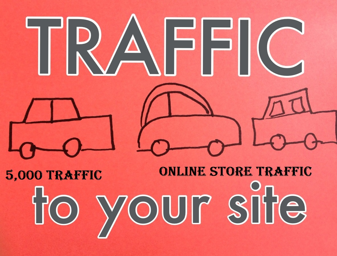 Real human 5,000 Traffic For Websites,  Amazon, Esty, Ebay, Online Store From Google