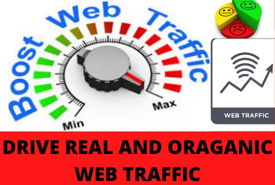 20,000 Real Human Keyword Visitors From Worldwide Via Search engine, Social Media Traffic