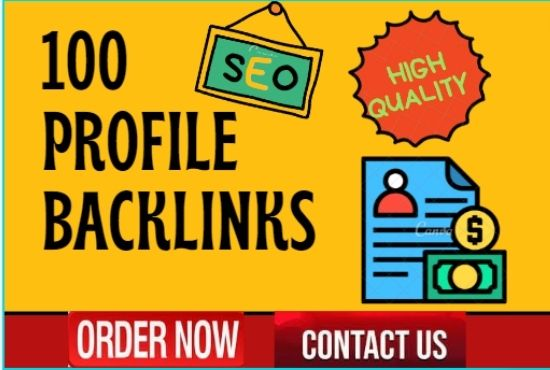 I will 100 high profile backlinks to rank your website