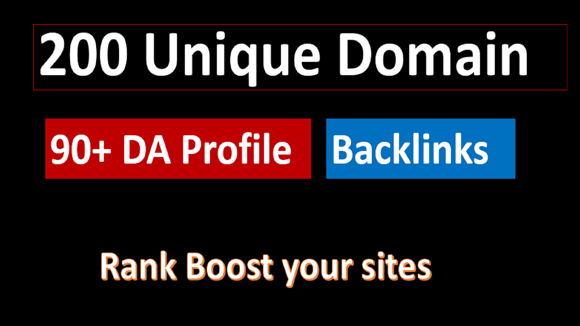 I will provide 90+DR/PR 200 Social Profile High-Quality Backlinks to boost your Business profile.