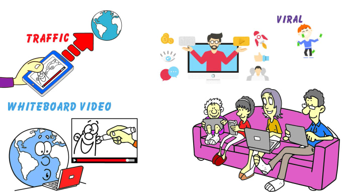 I will create whiteboard animation video with pro voiceover in 24 hours