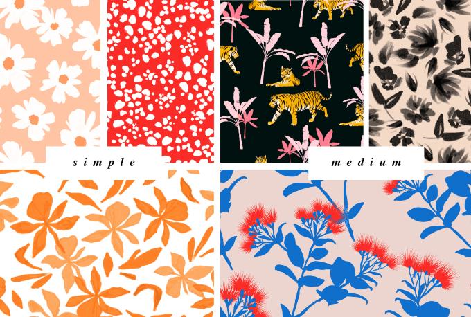 I will make a unique pattern design