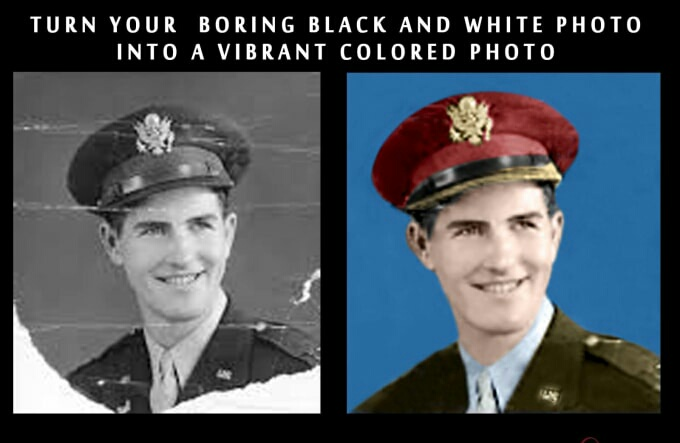I will restore old photos and colorize old photos in 24 hours