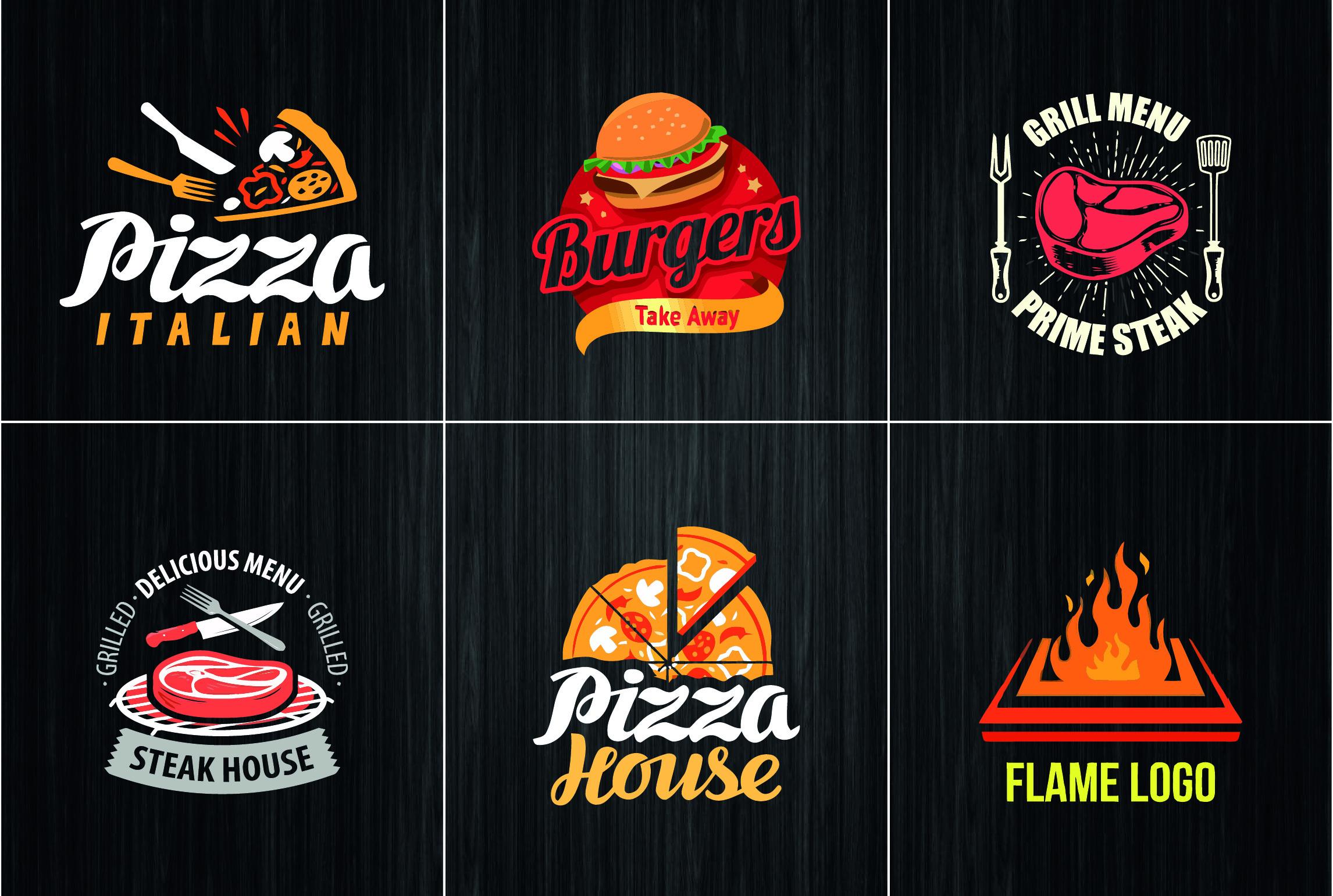 I will design natural food kitchen bar cafe bakery restaurant logo