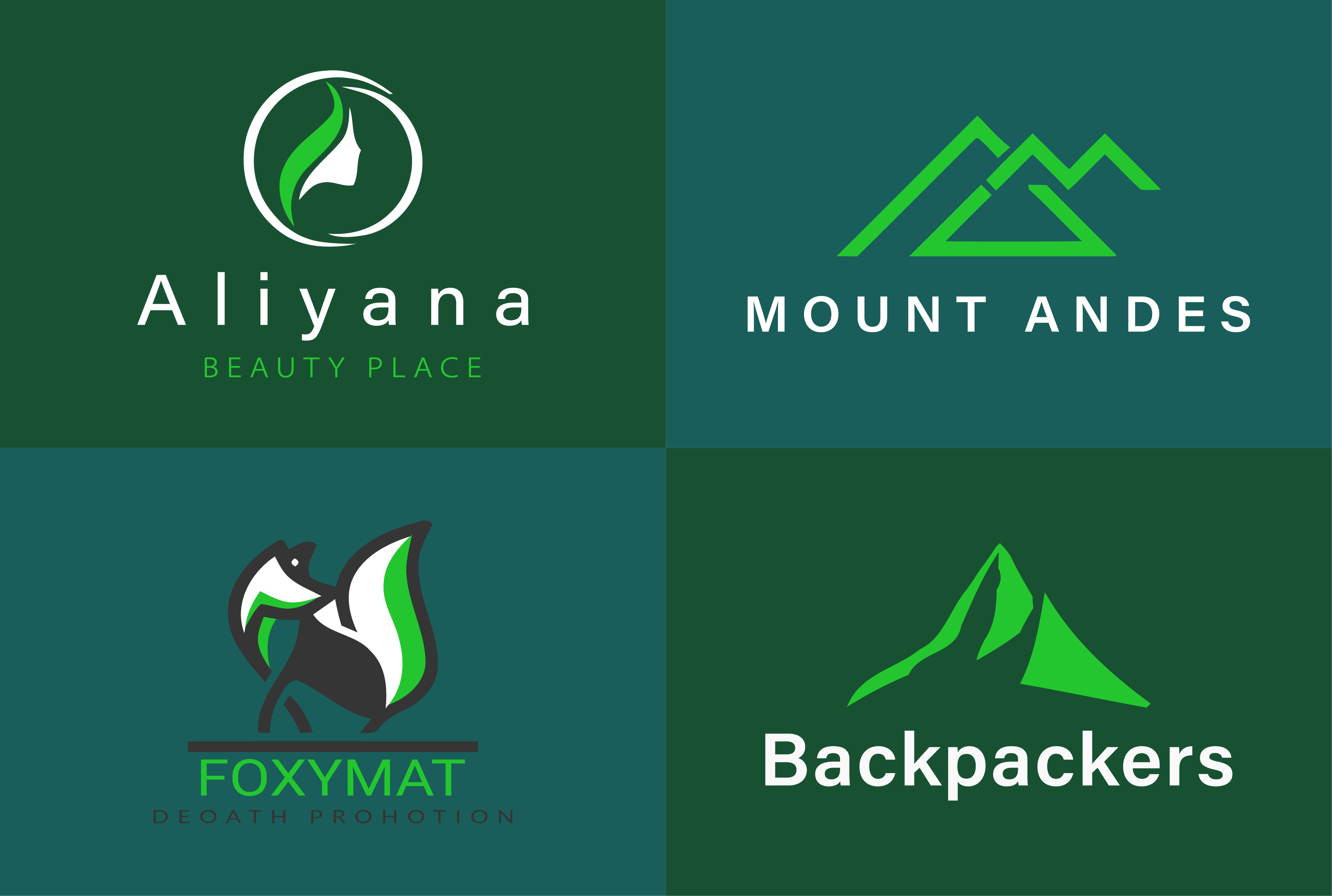 I will design attractive modern flat minimalist business logo