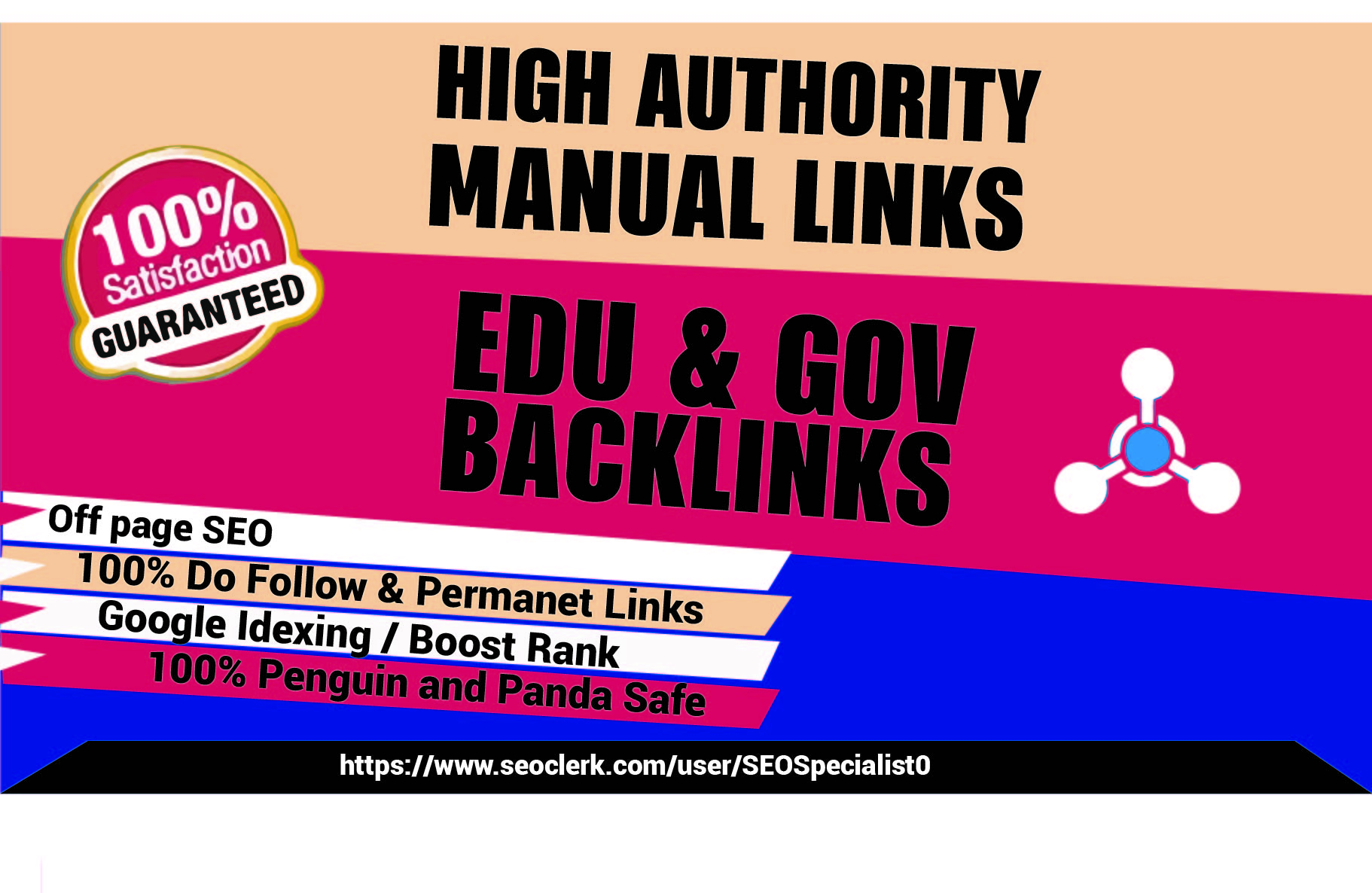 Make manually Create 90 Strong EDU High-Quality backlinks From top Universities