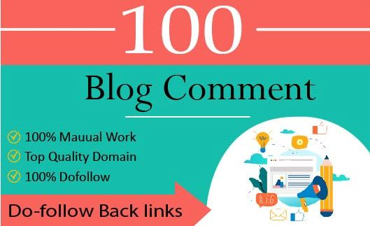 I will build SEO dofollow backlinks,  high authority blog comments