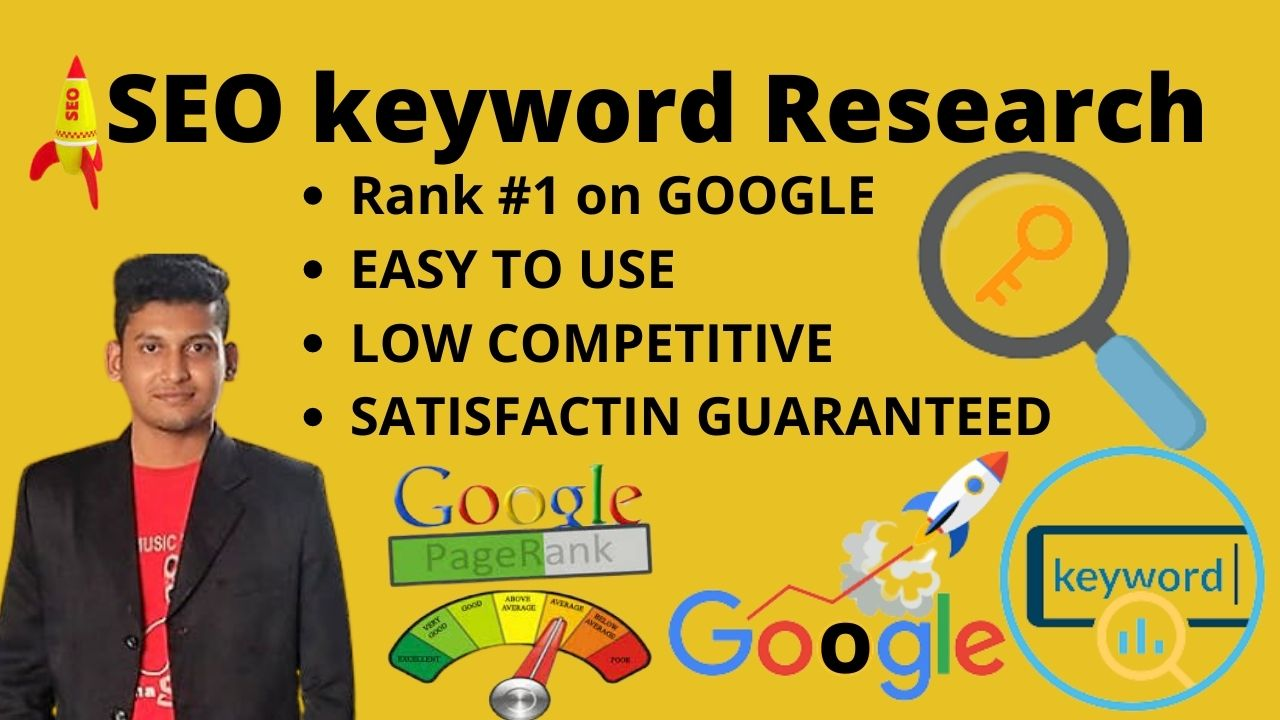 Best professional SEO keyword research and competitor analysis for your website