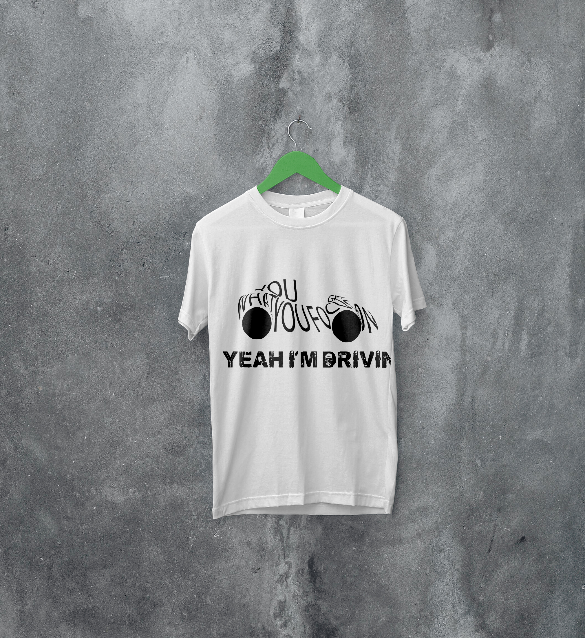 I will create an awesome graphic and typography tshirt design